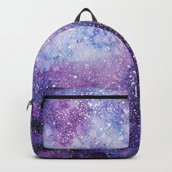 Space. Watercolor Backpack