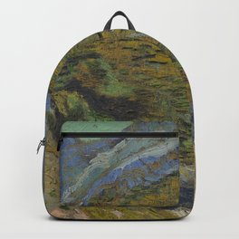 Ravine with a Small Stream Backpack
