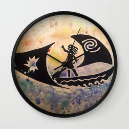 We Were Voyagers Wall Clock