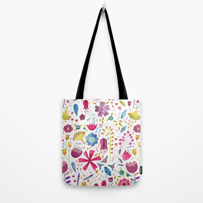 Autumn Hedgerow Tote Bag