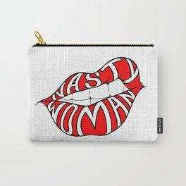 Nasty Woman - Red Lips Carry-All Pouch