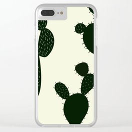 Threes a Crowd Clear iPhone Case