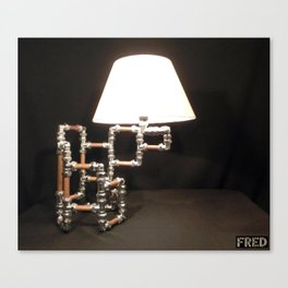 Articulated Desk Lamps - Copper and Chrome Collection - FredPereiraStudios_Page_14 Canvas Print