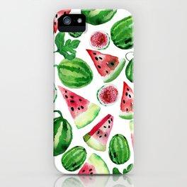 Wild watermelon iPhone Case