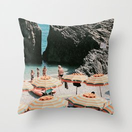 Monterosso Al Mare - Italy Throw Pillow