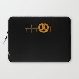 My Heart Beats for National Pretzel Day Laptop Sleeve