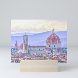 Cathedral of Santa Maria del Fiore  Florence Italy Mini Art Print