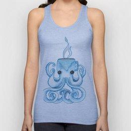 Octopus Coffee Unisex Tank Top