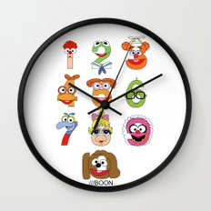 Muppet Babies Numbers Wall Clock
