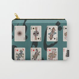 Persian Playing Cards Carry-All Pouch