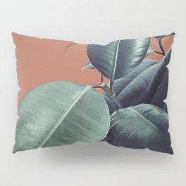 Ficus Elastica #17 #AutumnLeaf #foliage #decor #art #society6 Pillow Sham