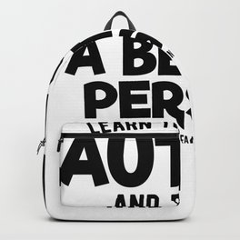 Autism particularly developmental disorder Backpack