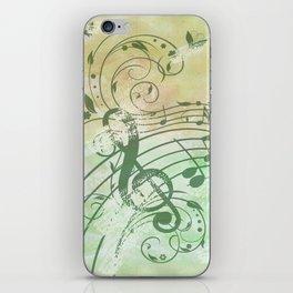 Music Notes Flutter 3 iPhone Skin