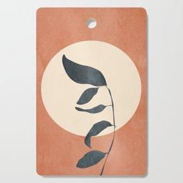 Summer Leaves Cutting Board