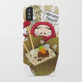 Daruma Time!!! iPhone Case