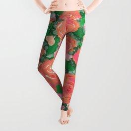 Blushing Roses Leggings