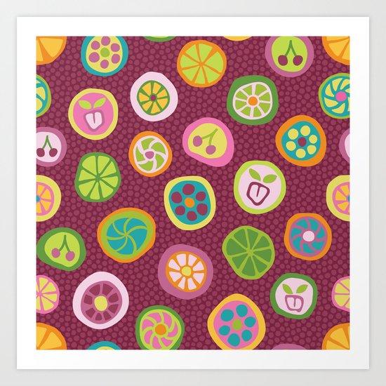 Candy is Dandy Art Print