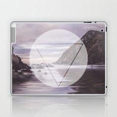 Calm Waters sacred geometry circle triangle Laptop & iPad Skin