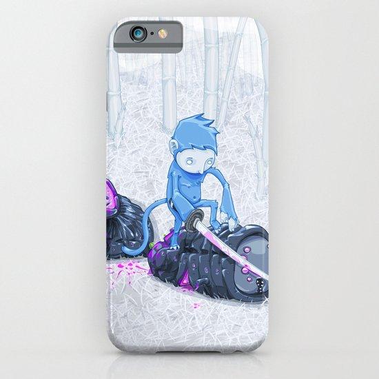 Samurai Monkey iPhone & iPod Case