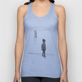 Children Looking at the Sea Unisex Tank Top