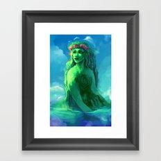 Te Fiti Framed Art Print