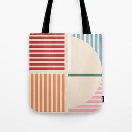 Abstract geometric 01 Tote Bag