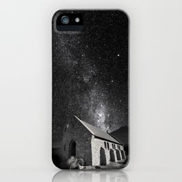Church of the Good Shepherd under the stars. iPhone Case