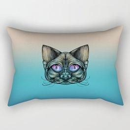 Zombie Cat Rectangular Pillow