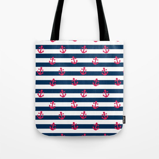 Sailor Stripes Tote Bag