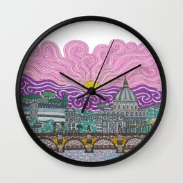 roma caput mundi Wall Clock