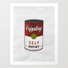 Crippling Self Doubt Art Print