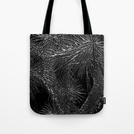 Joshua Tree Silver by CREYES Tote Bag