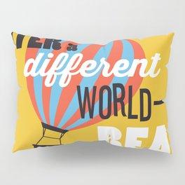Different World - Just Read Pillow Sham