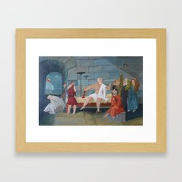 Socrates' Revolt Framed Art Print