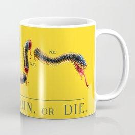 Join, or Die. Coffee Mug