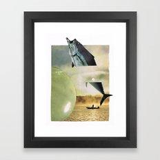the big fish... Framed Art Print