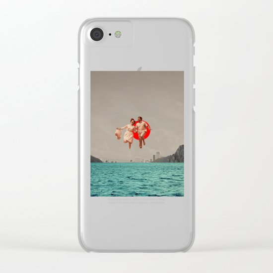 Don't Look Back Clear iPhone Case