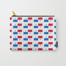 flag of panama 2 -Panama,Panamanian,canal,spanish,San Miguelito,Tocumen,latine,central america,panam Carry-All Pouch