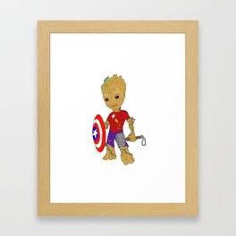 Become Your Own Hero Framed Art Print