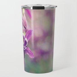 Purple Columbine Travel Mug