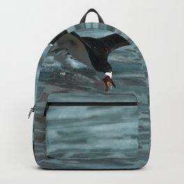 Hungry Black Skimmer Ocean Bird Backpack