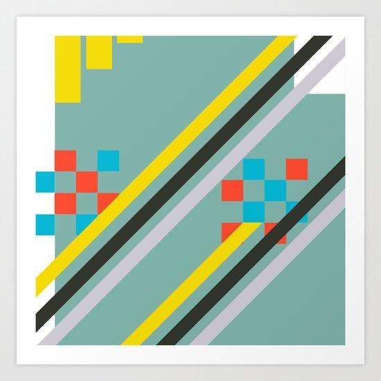 Squarely Art Print