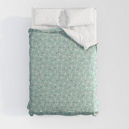 Cat Paisley Mint Comforters