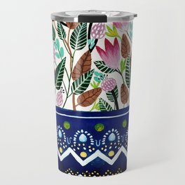Flowers in a Vase 2 Travel Mug