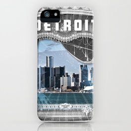 The Big Show - Detroit, Michigan iPhone Case