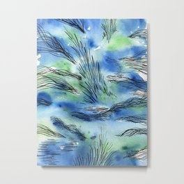 The waterfalls Metal Print