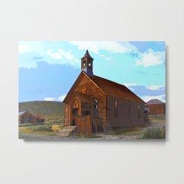 Bodie Church Metal Print