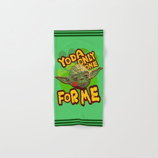 Yoda Only One For Me! Hand & Bath Towel