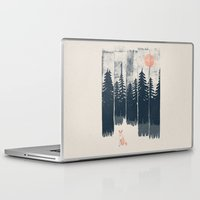 Laptop Skins featuring A Fox in the Wild... by NDTank