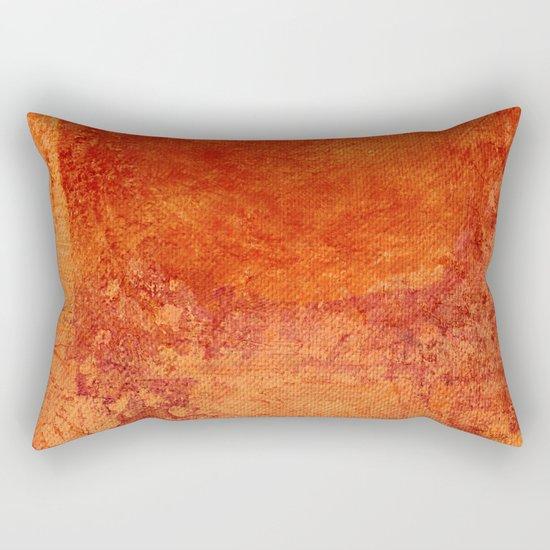Sotto un Sole Intenso Rectangular Pillow